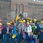 La classe V a Milano
