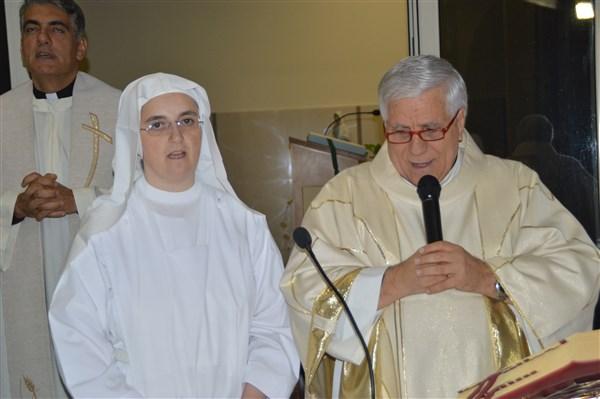 Suor Claudia Stralla celebra i suoi 25 anni di vita religiosa!