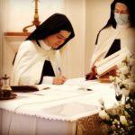 Professione perpetua di suor M. Alice di Gesù